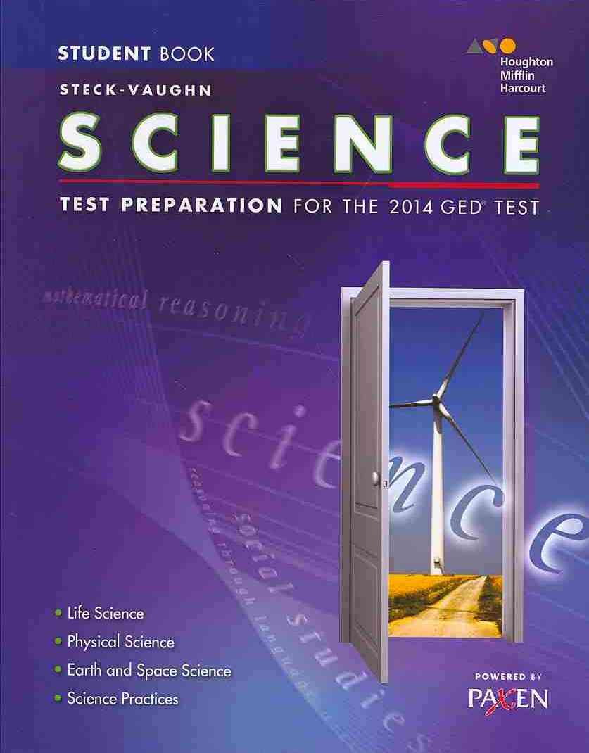 Steck-vaughn Ged Test Preparation Science By Steck-Vaughn (COR)